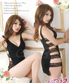 Free Shipping Sexy Black Fishnet Bodystocking Bodysuit Lingerie,Sexy Lingerie Bodysuit,Girls Cheap Lingerie (Bodysuit+G-string)