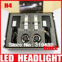 50W H4 LED Headlight Conversion Kit Car Driving Fog Lamp 1800LM CREE CXA1512 Chips Super White High Low