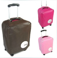 "Luggage Cover 2pcs/lot, 3 colors Brown,  Pink  ,Rose available for 20"" 24"" 28""   inch trolley suitcase luggage trunk"