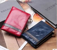 high quality Zipper Leather wallet ladies fashion clutch wallet pouch/clutch for women GENUINE LEATHER Multifunction Bag Purse