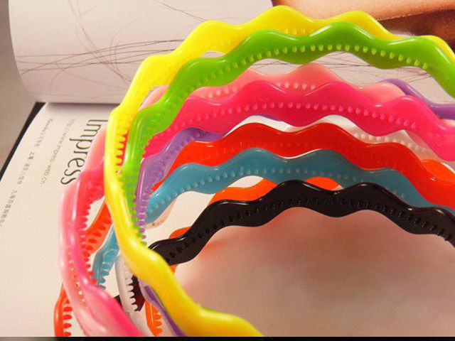 840016 Beauty Multi Colored Tiara Fashion Beauty Accessory Hair Hoop Classic Headband(Hong Kong)