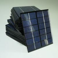 Solar Panel, 6V 2W Solar Panels, Small Solar Panel Power Supply System