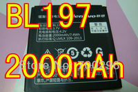 Free Shipping BL197 best quality Battery for lenovo phones S889T A800 A798T S720 BL197