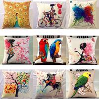 Factory  wholesale  animal printed short velvet cushion cover/high qualitysofa  pillow cover / carton pillow case free shipping