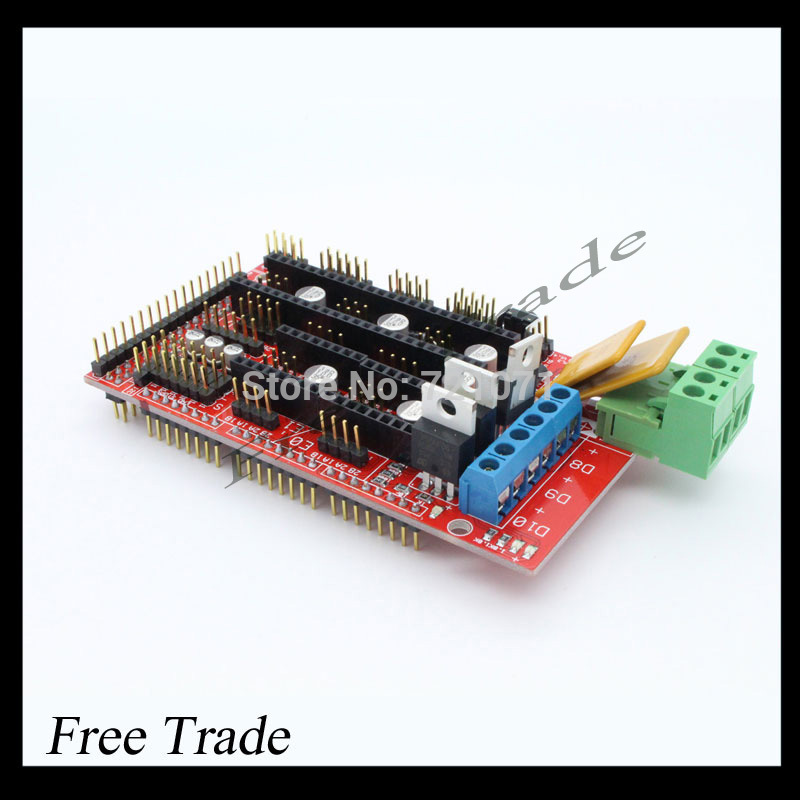 Free shipping !! RAMPS 1.4 3D printer control panel printer Control Reprap MendelPrusa(China (Mainland))