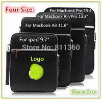 "Nylon Sleeve Case, Handbag, For ipad Tablet 10"", Laptop 11"",12"" 13"",14"",15 inch, For Macbook Notebook, Wholesales,Free Drop Ship"