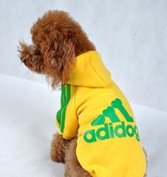 2014 New Fashion Spring  Dog Clothes  Cotton Sportswear Cool Clothes For Dogs Hot Sale!