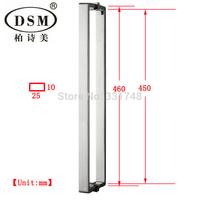 304 Stainless Steel Bathroom Entry Door Pull Handle PA-646-25*10*460mm For wooden,metal,glass doors