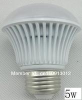 Free shipping LED ball bulbs B006 SMD 5630 epistar  LED chip base E27 cool white 6000k,wholesale buy now