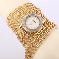 Women's fashion leisure long chain quartz watch / 2014 new elegant women