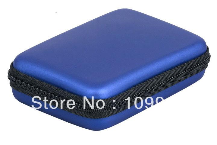 "Free shipping Portable Hard Drive 2.5 ""HDD shockproof cover zipper bag Bag Hardcase Case CY0269 Dropshipping(China (Mainland))"