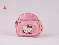 Very Cute Big Hello Kitty Backpack /Travel Bag Luggage School bag  ose red shoulder bag  + Free shipping BAG-271