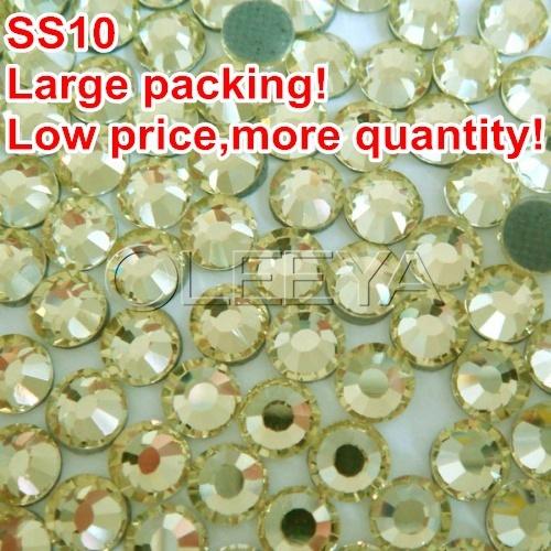 Стразы для одежды Oleeya ss10 500Gross/bagFix Flatack ,  Y0359 2.7-2.9mm заклепочник усиленный gross 40409