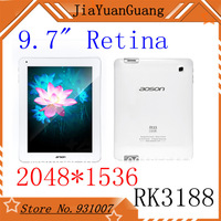 "Aoson M33 and M30Q 9.7"" Retina Screen Quad Core Tablet PC RK3188 Cortex A9 28nm 1.6Ghz 2048x1536 2GB RAM 16GB"