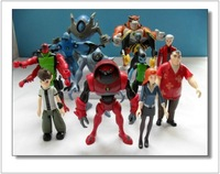 12 Pieces 7~12 CM Ben 10 Protector of Earth Action Figures Some Deformation Dolls Toys  WA0031