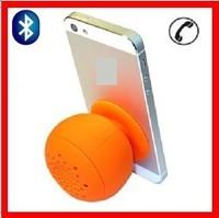 New arrival!  Mushroom Mini Bluetooth Speaker Wireless Hands free Waterproof Silicone Suction