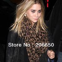 New Style Fashion Hot Leopard Scarf Women Warm animal print Leopard favorite super star shawl +Free Shipping
