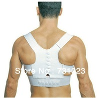 Hot sale  magnetic back support fully adjustable posture sport support,as seen on tv! NO Box