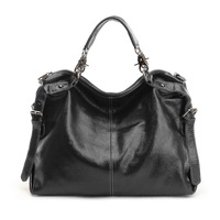 Real Leather Bag!!! Women Genuine Leather Bag Ladies Designer Vintage Shoulder Bags Handbag FREE SHIPPING B1335