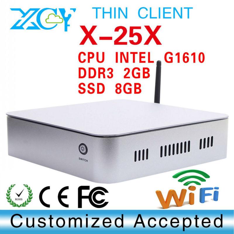 motherboard ITX Intel atom G1610 Desktop Board XCY X-25X intel atom dual core G1610 CPU(China (Mainland))
