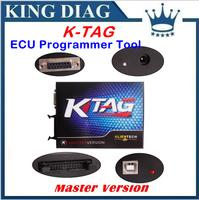 DHL/Fedex Free Quality A+ KTAG K-TAG ECU Programming Tool Master Version V2.06 KTAG K TAG ECU Chip Tunning Fast Express Shipping