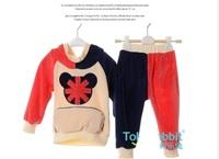 Retail Free shipping Brand Carters Baby boy Clothing Sets 3m-12m Overalls Jacket pants 2pcs/set Bodysuits kid Winter autumn