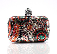 Free Shipping 2013 Wholesale Colorful Prom / Evening Clutch Purse Bag Evening Party Clutch Bag