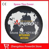 Free shipping !!!!!!!!!! Pajero Mitsubishi spare tire cover, all-over world spare tire cover
