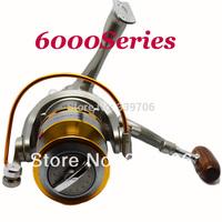 6000 wheel  new 2014 winter feeder rod of fishing Spinning reel suit for ice spinning feeder fishing pesca cortez ice reels 6000