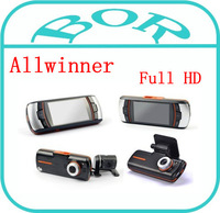 F90 Car Black Box/Car DVR +4 IR Led Rear Camera/H.264 HD1920*1080P/20FPS 2.7 inch LCD/HDMI