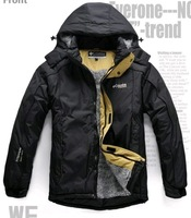 Free Shipping New Men's Outdoor Sportswear,Sport  Coat  Hooded Down Jacket warm clothing-168