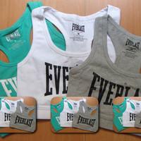 Everlast super fashion Y style short tops sports vest