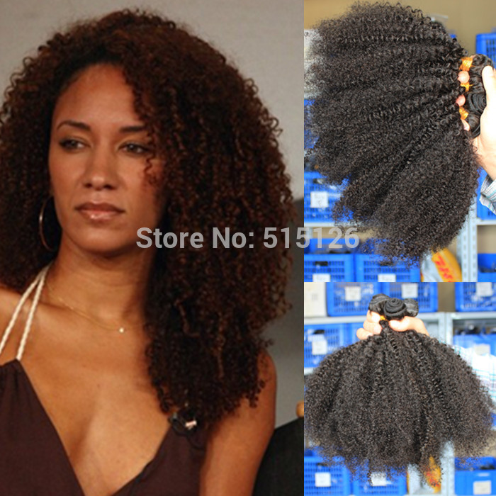 Kinky Curly Human Hair Extensions