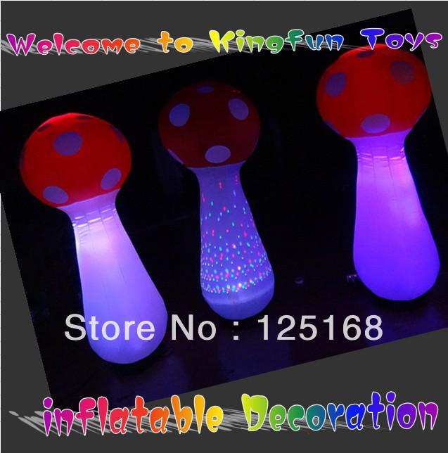 Lighting inflatable mushroom decorations(China (Mainland))