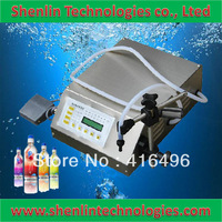 Digital filler automatic liquids filling machinery bottling equipment 3-3500ml stainless nozzle 110/220V fast delivery warranty