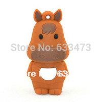 custom usb flash drive funny  horse usb disk promotional 4GB 8GB 16GB  gift stick horse pen drive
