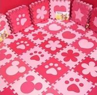 Foam puzzle mats 30 mosaic floor mat children crawling baby non-slip mat environmental cartoon