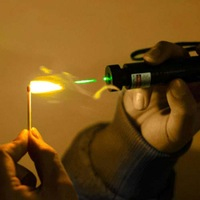 New 532nm SD 303 Focus Burning Green Laser Pointer Adjustable