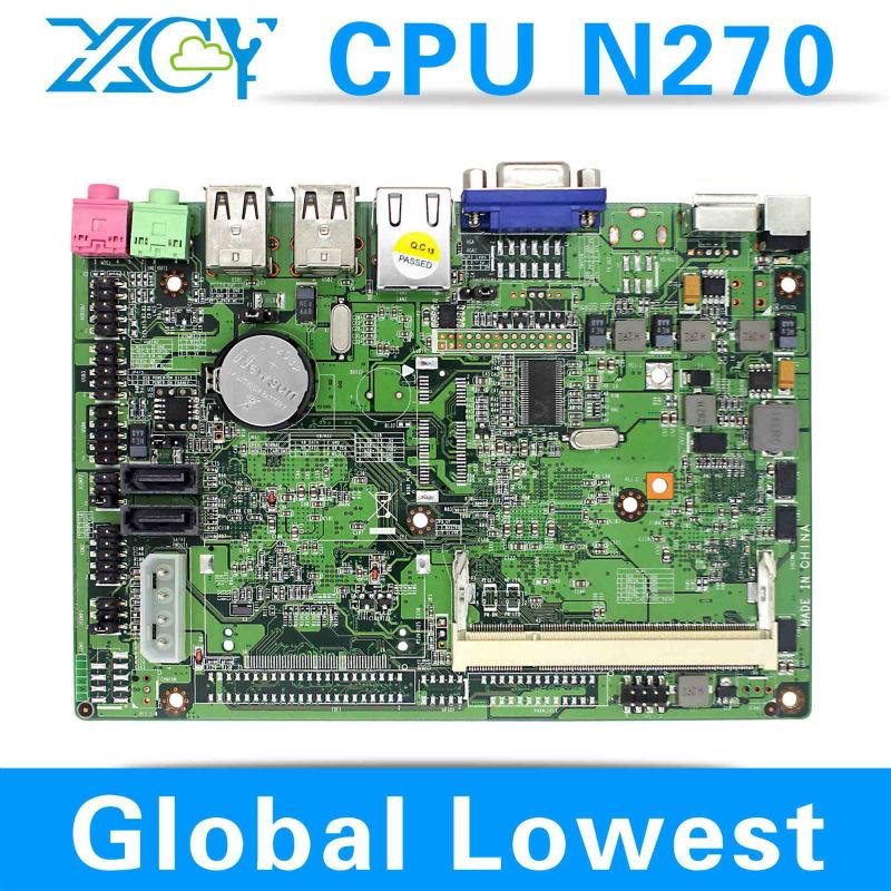 Intel atom N270 Desktop Mainboard computer case micro atx XCY L-18 21*14*4cm Dimension(China (Mainland))