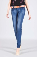 2013 new semiar designer women jeans fashion lady pencil jean pants denim trousers size 26-33 free shipping