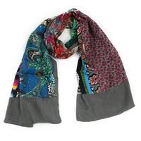 2014 Newest random patch/stitch scarf  Women Fashion Spring/Autumn/Winter Scarf ,Women Scarf Long Big Size Scarves Shawl Wraps