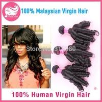 Cheap 3 Bundles Aunty Funmi Hair Malaysian Human Hair Extensions Romance Curl Funmi Human Hair Spring Roll Curl 8inch-32inch