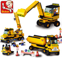 Christmas Gift,Sluban DIY Heavy Engineering  Building Block Toy Set M38-B9700 for Children, Self-locking Bricks,Compatible