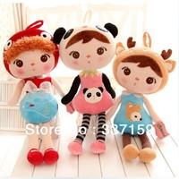 Free shipping 46cm Metoo angela plush dolls toys, fashion stuffed girls dolls, graduation and birthday gift for girls, 1pc