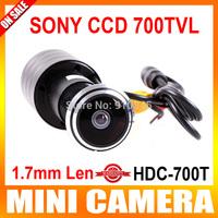 "PEEPHOLE DOORVIEW CAMERA HI-RES hd 1/3"" Sony Effio-E ccd 700TVL 170 degree WIDE ANGLE LENS Hidden Video Surveillance"