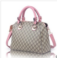 Free Shipping 2013 New Women`s Shoulder  Bags/Women`s Fashion Hand Bags/Pu leather Handbags For Ladies With High Quality