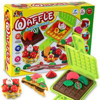 Free shipping Hamburger Plasticine Play dough set Modeling clay tools Girls toys Non-toxic