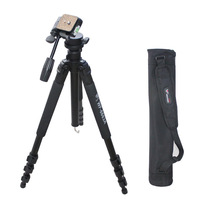 Weifeng WF-6663A  Professional Tripod Ball Head Camera Aluminum Tripods with Carrying Bag for SLR Digital Camera DV Camcorder