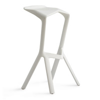 Miura Barstools PP Plastic Bar Chair (Many Colors) stool bar chair