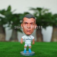 "Soccer Real Madrid FC Cristiano ronaldo 2.5"" Action Doll Toy Figure 2014-2015 season"